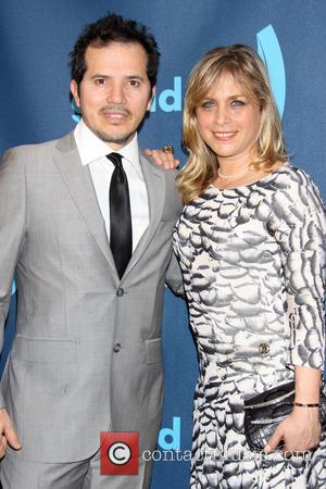 John Leguizamo and Justine Maurer - 24th Annual GLAAD Media Awards held at New York Marriott Marquis - Arrivals -...