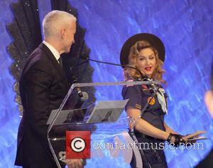 Anderson Cooper and Madonna - 24th Annual GLADD Media Awards - Madonna presents the Vito Russo Award to Anderson Cooper...