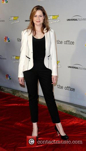 Jenna Fischer - 'The Office' series finale wrap party at Unici Casa - Arrivals - Culver City, California, United States...