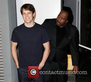 Jake Lacy and Leslie David Baker