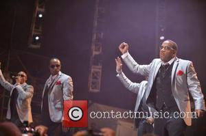 New Edition, Ricky Bell, Ralph Tresvant and Michael Bivins
