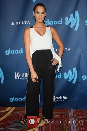 Carmen Carrera - 24th Annual GLAAD Media Awards held at New York Marriott Marquis - New York, NY, United States...
