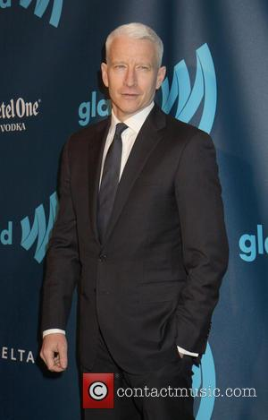 Anderson Cooper - 24th Annual GLAAD Media Awards held at New York Marriott Marquis - New York, NY, United States...