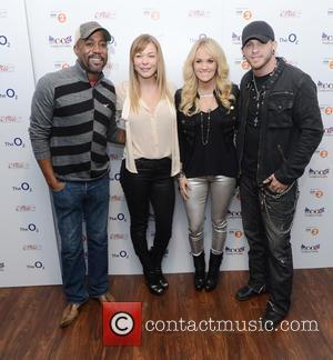 Darius Rucker, Leann Rimes, Carrie Underwood and Brantley Gilbert