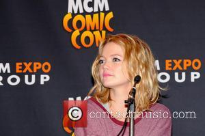 Hannah Spearritt - MCM Birmingham Memorabilia Comic Con at Birmingham NEC - Day Two - Birmingham, United Kingdom - Sunday...