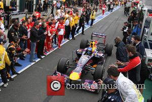Sebastian Vettel - Formula One 2013 Australian Grand Prix - Race - Melbourne, Australia - Sunday 17th March 2013