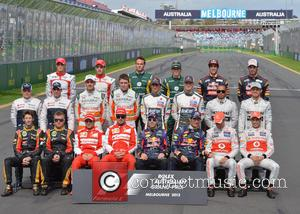 Formula 1 Drivers - Formula One 2013 Australian Grand Prix - Race - Melbourne, Australia - Sunday 17th March 2013