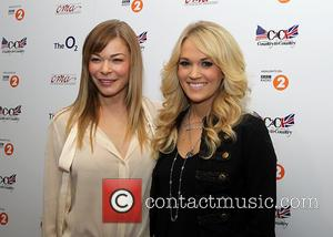Leann Rimes and Carrie Underwood