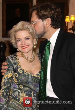 Alison Fraser and David Staller - Gingold Theatrical Group's Golden Shamrock Gala held at the Players Club - New York...