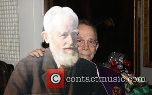 Joel Grey and George Bernard Shaw - Gingold Theatrical Group's Golden Shamrock Gala held at the Players Club - New...