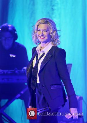 Olivia Newton-John - Olivia Newton-John performing live on stage at the O2 Apollo Manchester - Manchester, United Kingdom - Sunday...