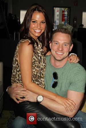 Melissa Rycroft and Tye Strickland - 'Dancing with the Stars' Season 16 - Backstage Gifting Suite held at CBS Studios...