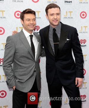 Ryan Seacrest and Justin Timberlake