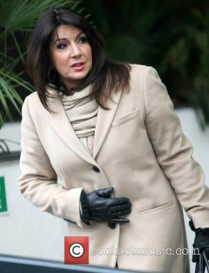 Jane McDonald - Celebrities at the ITV studios - London, United Kingdom - Monday 18th March 2013