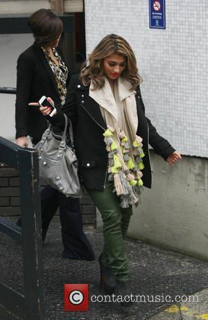 The Saturdays and Vanessa White - The Saturdays at the ITV studios - London, United Kingdom - Monday 18th March...