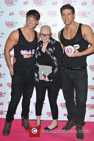 Gail Porter - Wink Bingo celebrate their partnership with Dream Idols at Angels in SoHo - Arrivals. - London, United...