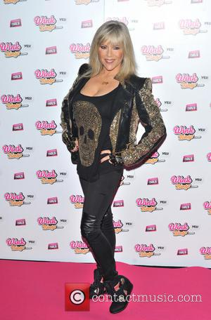 Samantha Fox - Wink Bingo celebrate their partnership with Dream Idols at Angels in SoHo - Arrivals. - London, United...