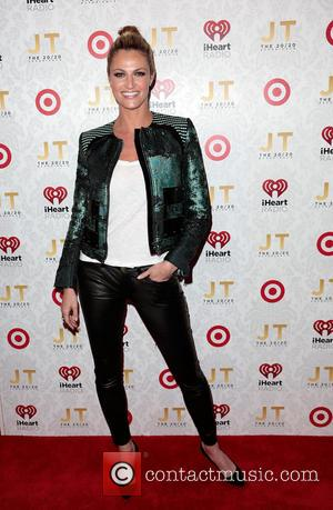 Erin Andrews - Justin Timberlake's 'The 20/20 Experience' album release party hosted by Target and Clear Channel at the El...