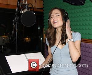 Laura Osnes - The recording session for the new Broadway production of 'Cinderella' held at MSR Studios - New York...