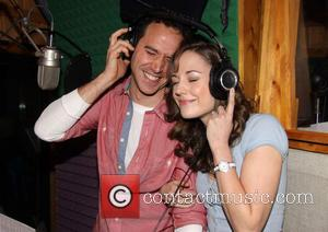 Santino Fontana and Laura Osnes