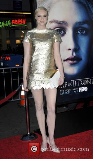 Gwendoline Christie - Premiere of the third season of HBO Series 'Game of Thrones' - Arrivals - Los Angeles, CA,...