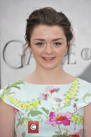 Maisie Williams - Premiere of the third season of HBO Series 'Game of Thrones' - Arrivals - Los Angeles, CA,...