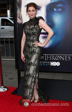 Esme Bianco - Premiere of the third season of HBO Series 'Game of Thrones' - Arrivals - Los Angeles, California,...