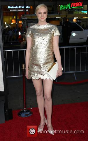 Gwendoline Christie - Premiere of the third season of HBO Series 'Game of Thrones' - Arrivals - Hollywood, California, United...