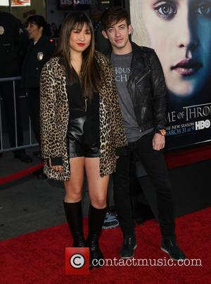 Jenna Ushkowitz and Kevin McHale - Premiere of the third season of HBO Series 'Game of Thrones' - Arrivals -...