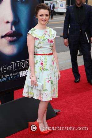 Maisie Williams - Premiere of the third season of HBO Series 'Game of Thrones' - Arrivals - Hollywood, California, United...