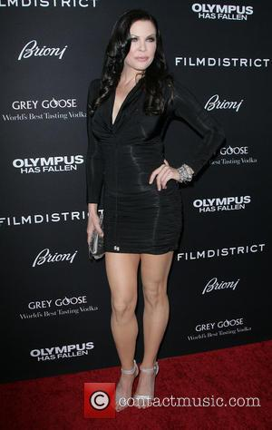 Christa Campbell - Los Angeles Premiere of 'Olympus Has Fallen' held at ArcLight Hollywood Theatre - Los Angeles, California, United...