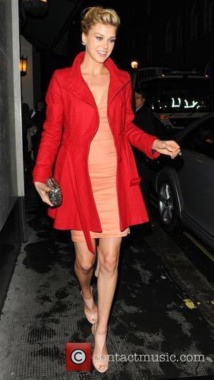 Adrianne Palicki - Celebrities leave The Ivy Club - London, United Kingdom - Monday 18th March 2013