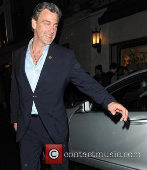 Ray Stevenson - Celebrities leave The Ivy Club - London, United Kingdom - Monday 18th March 2013