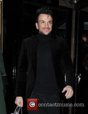 Peter Andre - Celebrities seen outside The Dorchester Hotel - London, United Kingdom - Tuesday 19th March 2013