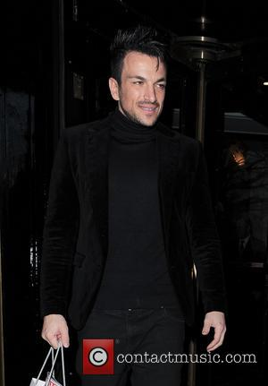 Peter Andre - Celebrities are seen leaving an event held at The Dorchester hotel in London - London, United Kingdom...