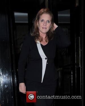 Sarah Ferguson - Celebrities are seen leaving an event held at The Dorchester hotel in London - London, United Kingdom...