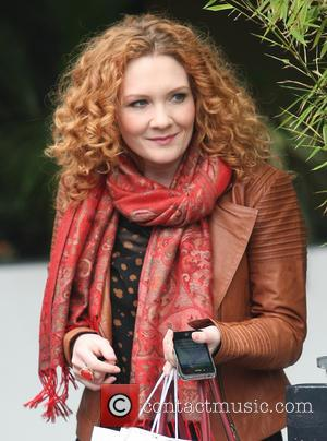 Jennie McAlpine - Celebrities at the ITV studios - London, United Kingdom - Tuesday 19th March 2013
