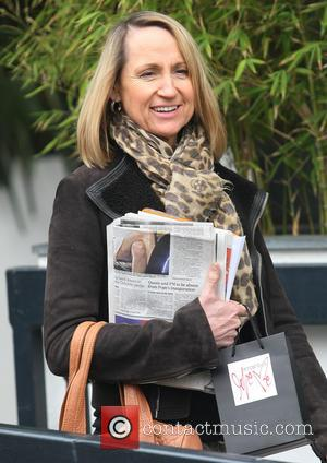 Carol McGiffin - Celebrities at the ITV studios - London, United Kingdom - Tuesday 19th March 2013