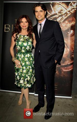 Roma Downey and Diogo Morgado - 'The Bible Experience' Opening Night Gala at The Bible Experience - New York City,...