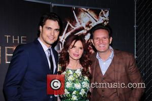 Roma Downey, Diogo Morgando and Mark Burnett - 'The Bible Experience' Opening Night Gala at The Bible Experience - New...