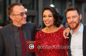 Danny Boyle, Rosario Dawson and James Mcavoy
