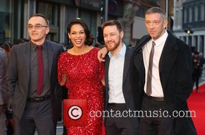 Danny Boyle, Rosario Dawson, James Mcavoy and Vincent Cassel