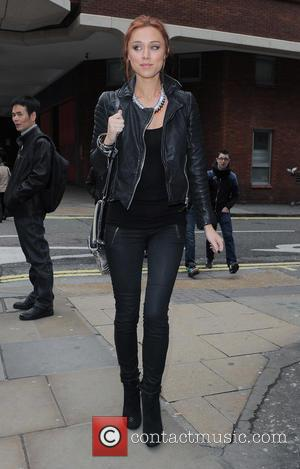 Una Healy of The Saturdays visits a teeth whitening dentist in London's Soho - London, United Kingdom - Tuesday 19th...