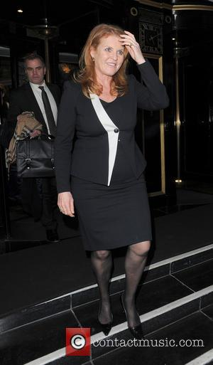 Sarah Ferguson and Duchess of York - Celebrities leaving an event held at The Dorchester hotel - London, United Kingdom...