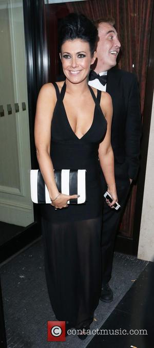 Kym Marsh - Celebrities outside the RTS Awards at the Grosvenor hotel - London, United Kingdom - Tuesday 19th March...