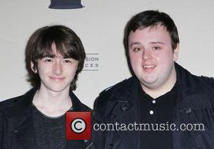 Isaac Hempstead Wright and John Bradley - Academy of Television Arts & Sciences Presents An Evening with 'Game of Thrones'...