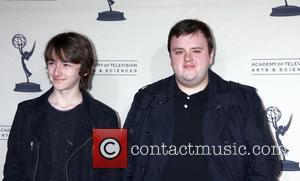 Isaac Hempstead-Wright and John Bradley