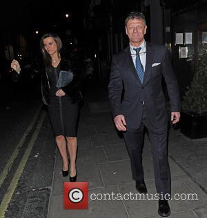 Sean Bean - Sean Bean leaves the Groucho Club with a female friend - London, United Kingdom - Tuesday 19th...