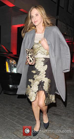 Trinny Woodall - Heather Kerzner's birthday party in Downtown Restaurant - London, United Kingdom - Tuesday 19th March 2013