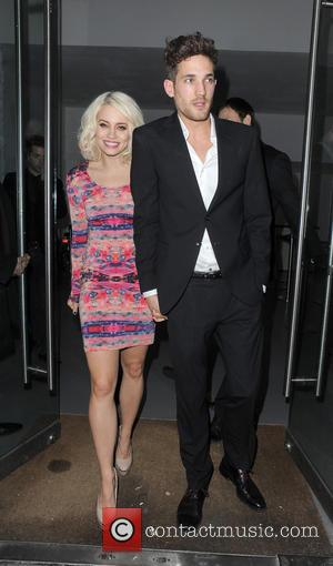 Kimberly Wyatt and Max Rogers - Sony Xperia Z launch party - Departures - London, United Kingdom - Tuesday 19th...